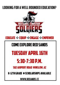 red sands open house